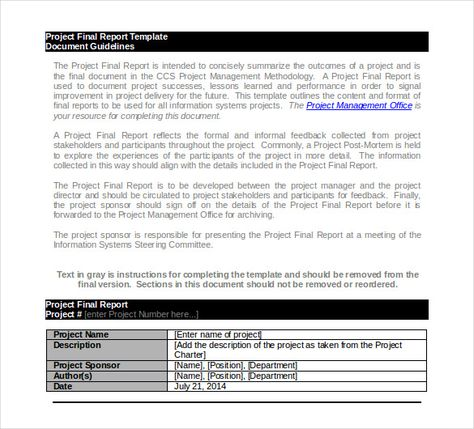 project final report template,project report template Report - committee report template