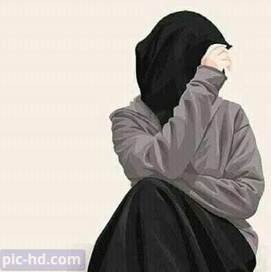 رمزيات بنات محجبات اجمل صور رمزيات بنات كيوت رمزيات كشخه للبنات Islamic Girl Hijabi Girl Hijab Cartoon