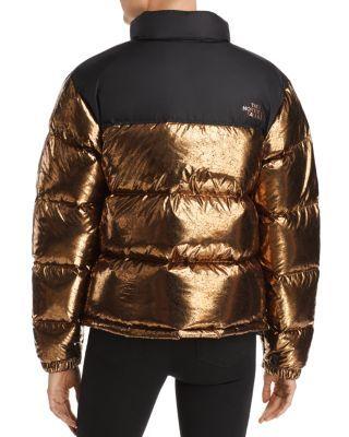 The North Face 1996 Retro Nuptse Metallic Puffer Jacket
