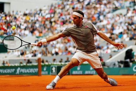 Same Old Roger Federer Shines At The New Look French Open Roger Federer French Open Sports
