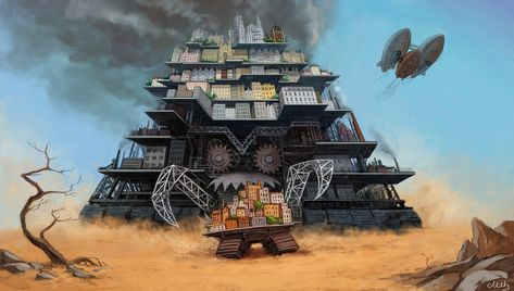 Mortal Engines: chase by ~eleth89 on deviantART