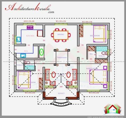 27 Ideas For House Design Architecture Bedrooms Square House Plans 1200 Sq Ft House Indian House Plans Simple chettinad house plan