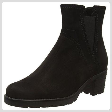 52 Damen Shoes StiefelSchwarz 804 Kurzschaft Gabor 67ybfg