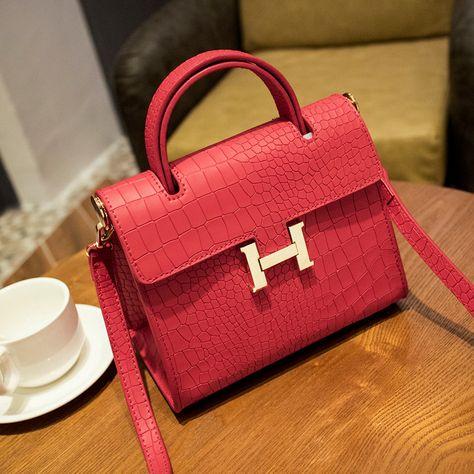 Bonne qualité sacs à bandoulière de marque pas cher femmes sac de cuir tendance…