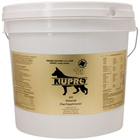 Nupro Is An All In One Supplement That Gives Your Dog The Nutrients He Doesn T Get From His Food Support With Images Natural Dog Supplements Healthy Pet Food Healthy Pets