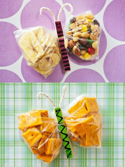 Butterfly Bags #gladinspiredlunches