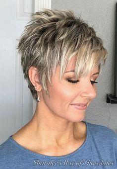 30 New Short Back Long Top Haircuts For Women 360 View Short Choppy Hair Thick Hair Styles Choppy Hair