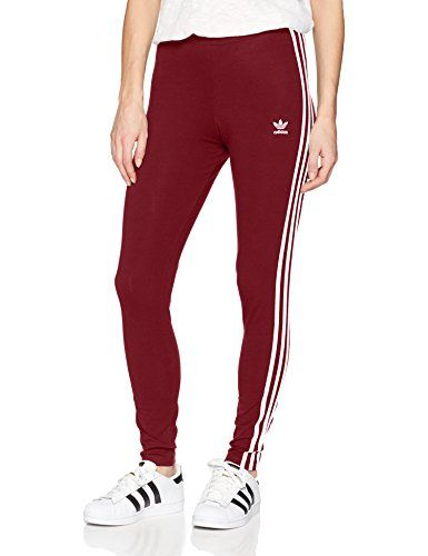 adidas Originals Women's 3 Stripes Leggings, Collegiate
