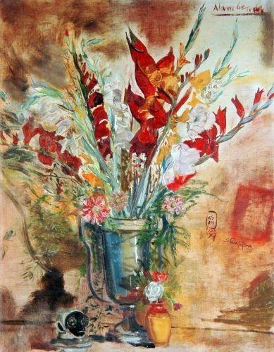Contoh Lukisan Bertema Manusia Dan Alam Benda Lukisan Alam Benda Download Makalah Ilmu Budaya Dasar Dalam Seni Rupa Downlo Di 2020 Painting Lukisan Pemandangan
