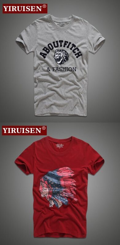 YiRuiSen Good quality Famous Brand Summer Hollistic Casual T