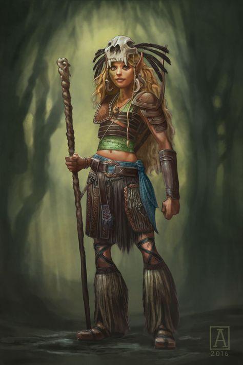Swamp Elder by JonasJensenArt.deviantart.com on
