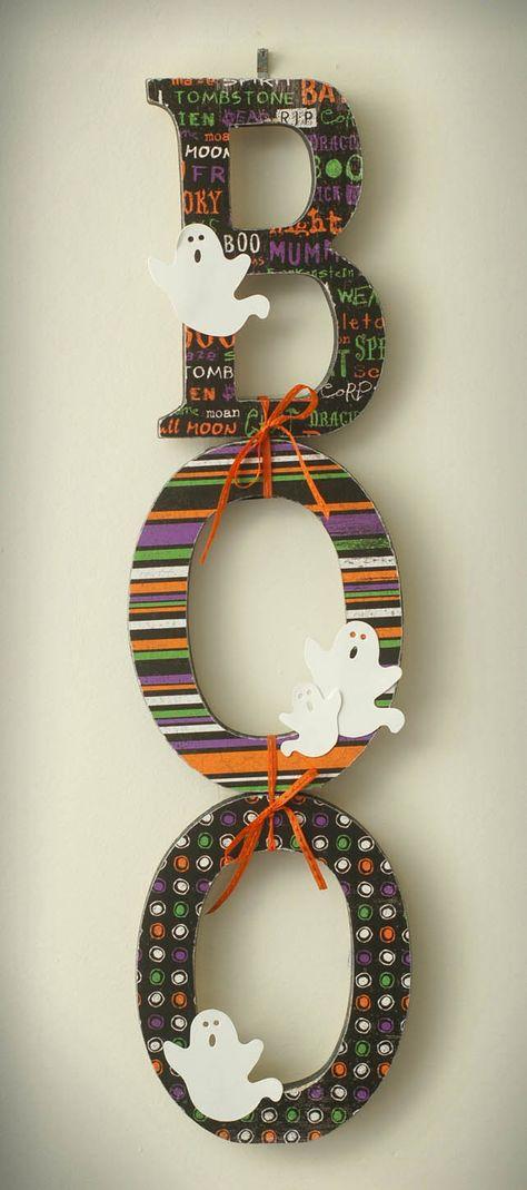 Halloween letters!