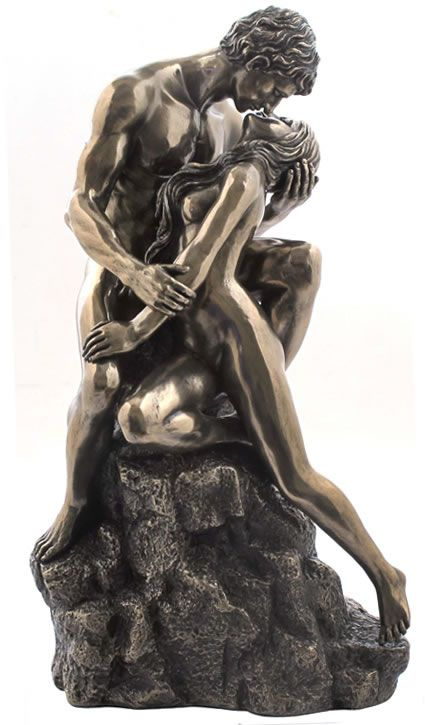 The Lovers Veronese Bronze Figurine Statue Classic Love Romance Male Female Family Sculpture, Art Et Nature, Bronze Art, Bronze Sculpture, Sculpture Clay, Oeuvre D'art, Erotic Art, Love Art, Sculpting