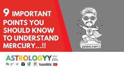 ASTROLOGY: INTELLIGENCE , COMMUNICATION SKILLS , etc... -- MERCURY for a...