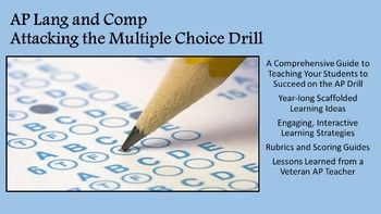 Ap Language And Composition Attacking The Multiple Choice Drill