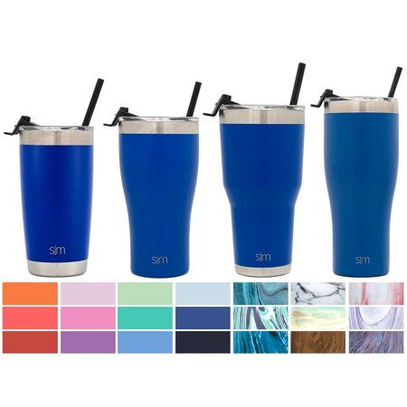 Simple Modern 32oz Slim Cruiser Tumbler with Straw & Closing