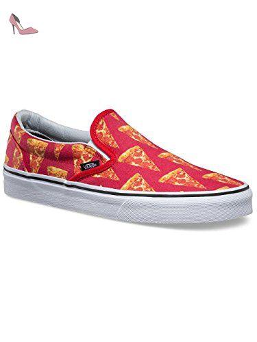 Homme Slip On Vans Classic Slip On – Slippers - Rouge - (late ...