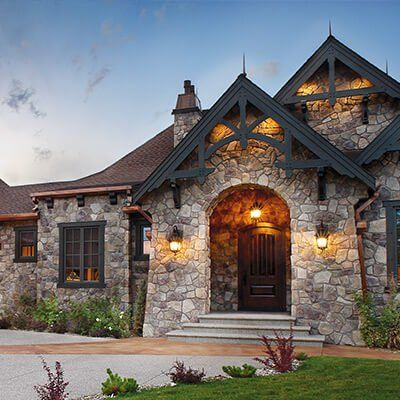 Inspiration Gallery Cultured Stone Stone Exterior Houses Stone Houses House Exterior
