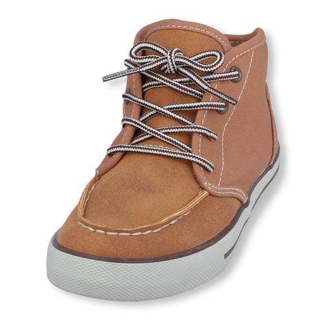 mid-top moc sneaker