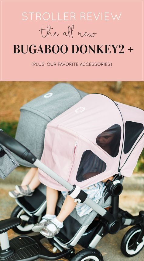 Our Review Of The All New Bugaboo Donkey2 Stroller Glitter Inc Best Baby Strollers Stroller Baby Strollers