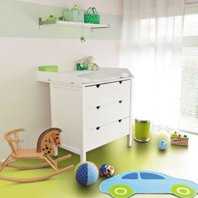 Kids Bedroom Vinyl Flooring bright green vinyl flooring - kids playroom | mid century house
