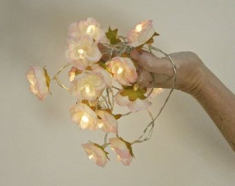 20 led rose flowers battery string fairy lights ivory and pink 20 led rose flowers battery string fairy lights ivory and pink bedroom decoration wedding centerpiece girl birthday gift beautiful bedrooms mightylinksfo Choice Image