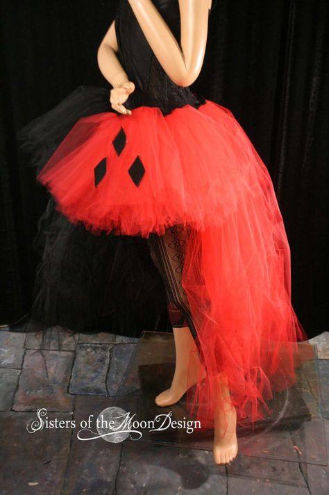 e14902b576cb Harley Quinn Adult tutu skirt Wedding Formal by SistersOfTheMoon