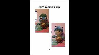 YOYO mini dolls crochet amigurumi (english subtitles) 2/2 - YouTube | 188x336