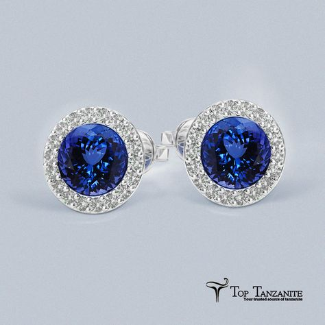 Find all stunning designs of Tanzanite Earrings at toptanzanite.com