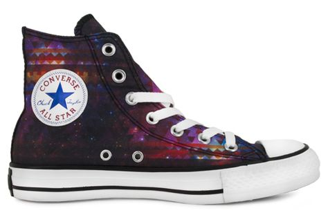 399e3d46c344 Converse End of the World - Designed by Kris Mestizo - Cosmic Print ...