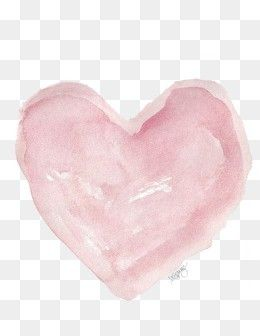 Free Download Watercolor Heart Png Image Iccpic Iccpic Com Watercolor Heart Watercolor Heart Shaped Valentines