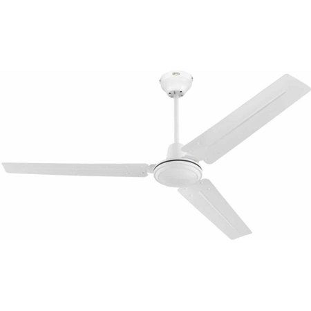 Westinghouse Industrial 56 In Antique White Indoor Ceiling Fan Walmart Com In 2020 Ceiling Fan White Ceiling Fan Ceiling Fan With Light