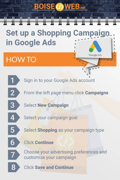 How to Set up a Shopping Campaign in Google Ads - BOISE WEB