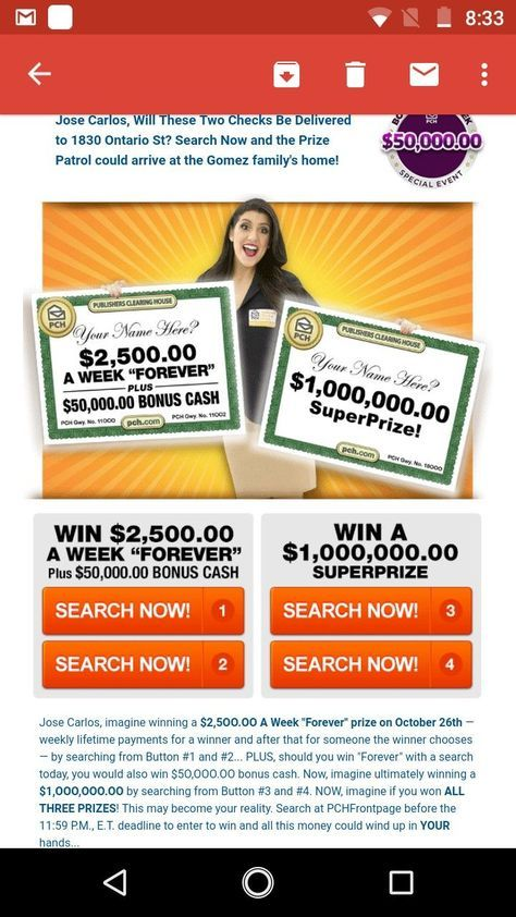 Publishers Clearing House Pch 3 | Enter to win in 2019