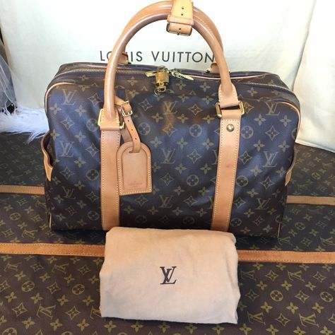 93dc34f15e86 Authentic Louis Vuitton Monogram Carryall Weekender Travel Bag TH0078 - The  Luxe Boutiqueus