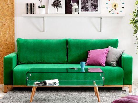 Komfortowa Sofa Z Funkcja Spania Skandynawia Sofa Kanapa Pomysly Na Umeblowanie