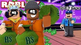 3 Player Rob All Stores In Mad City Challenge Roblox Livestream