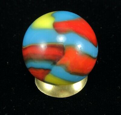 Marbles Rare Vintage Superman 11 16 Peltier Glass Company National Line Rainbo In 2020 Glass Company Glass Marble