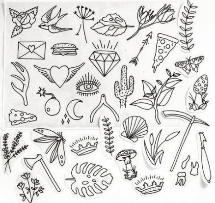 28+ ideas for drawing ideas tattoo sketches hand drawn
