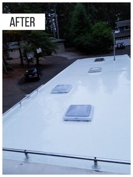 Rv Rubber Roof The Advantages Of Having A Rubber Roof On Your Rv In 2020 Roof Coatings Roof Sealant Roof