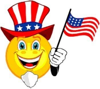 Pin By Deborah Patterson Barefoot On July 4th Celebrations 4th Of July Emoji Happy Independence Day Usa Smiley