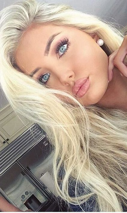 48 Beautiful Platinum Blonde Hair Colors For Summer 2019