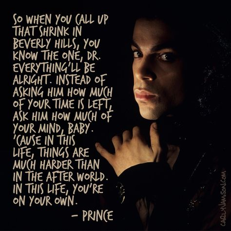 Duly Quoted: Prince - Let's go crazy, lyrics,