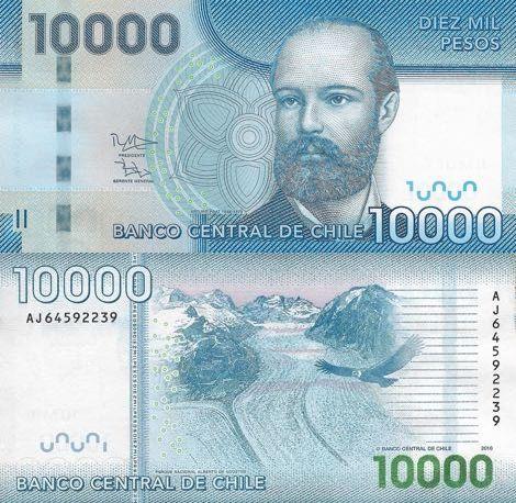 Chile 1000 Pesos 2018 Billetes Del Mundo Billetes Pesas