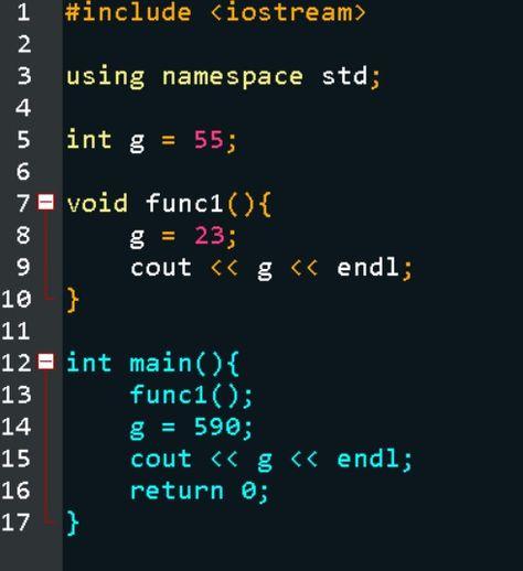 Scope Of Variable In C Global Variable C Programming Tutorials Computer Programming Languages Programming Tutorial
