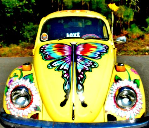 Yellow Punch Buggy by Kimberly Dawn Clayton