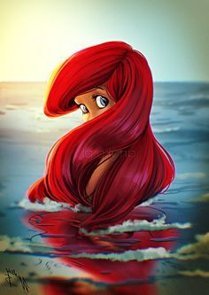 Walt Disney Fan Art - Princess Ariel - Walt Disney Characters Fan ...