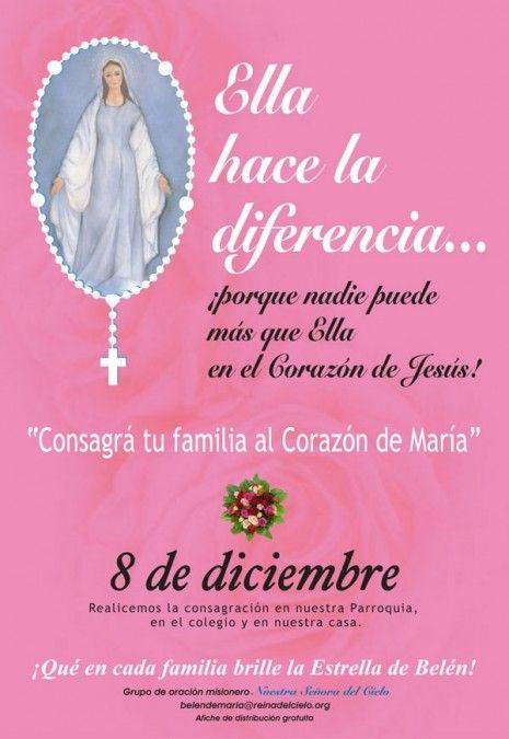 Mariainmac Imágenes De La Virgen Virgen María Inmaculada Concepcion De Maria