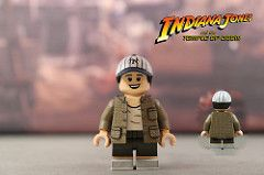 INDIANA JONES Custom Printed /& Inspired Lego Movie Minifigure!