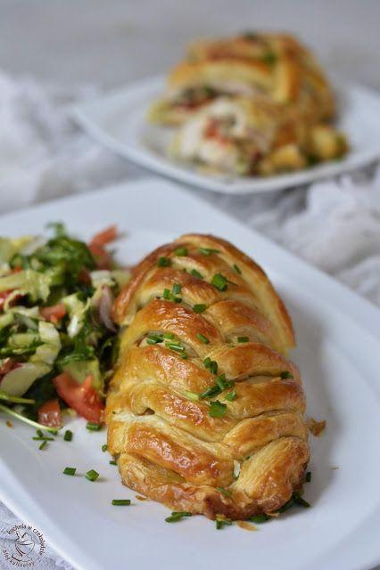 Kuchnia W Czekoladzie Kurczak W Ciescie Francuskim Culinary Recipes Dinner Time Food